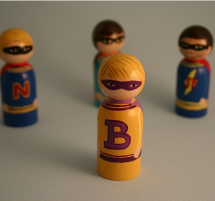 3. Custom Superheroes