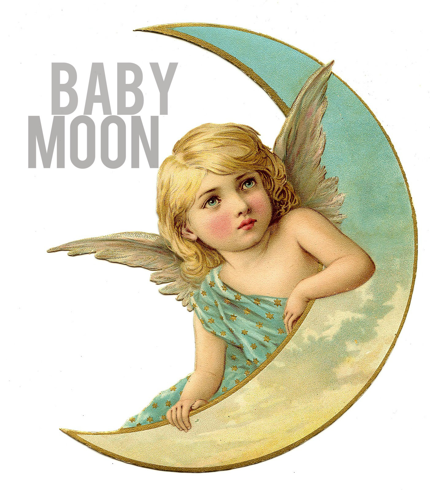 Colorful-Baby-Moon-Angel-Graphic