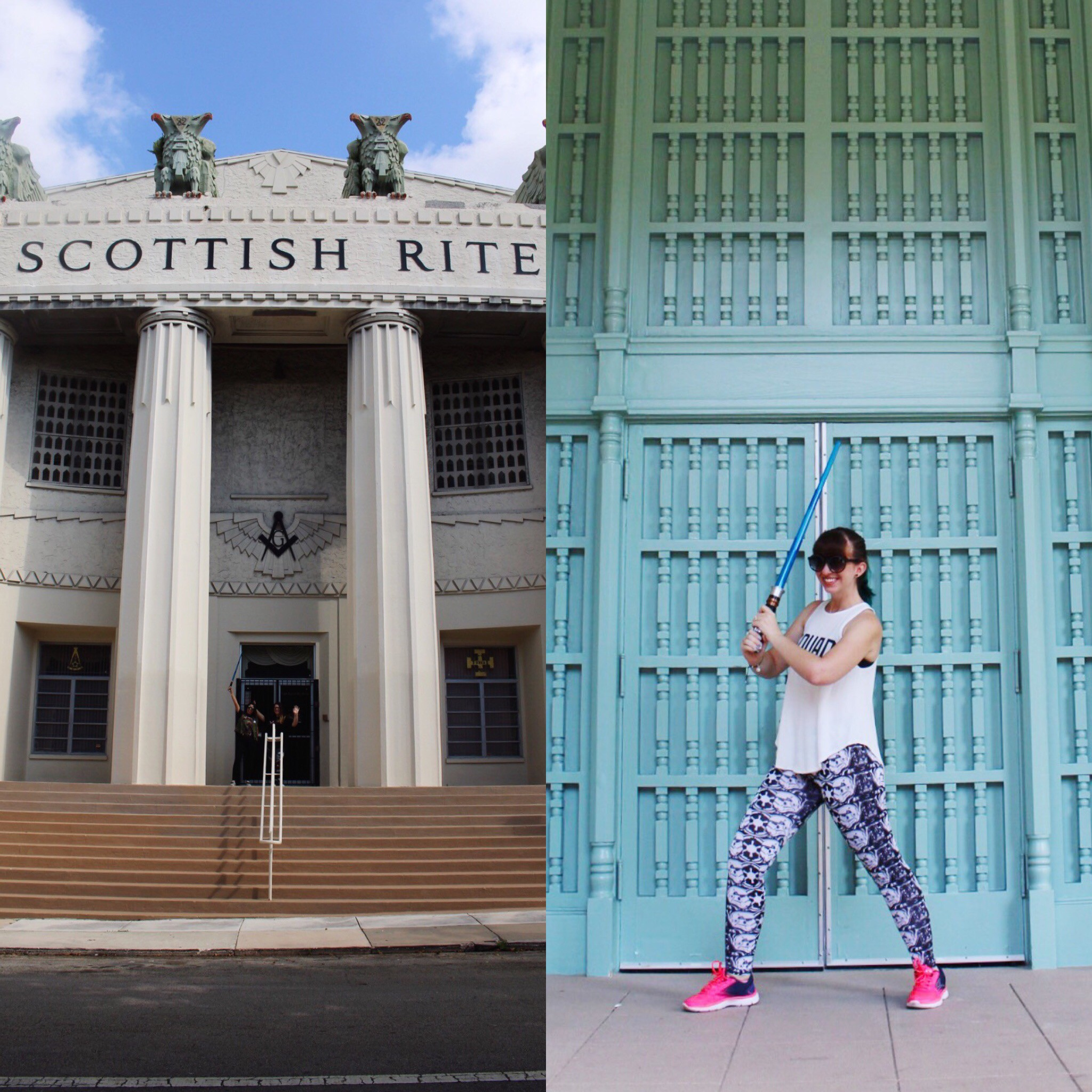 How cool is the Scottish Rite Temple where some Magic City Jedi events are held?